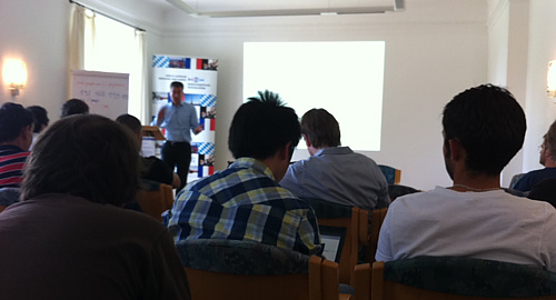 lecture at the Summer School Cloud Computing organised by the Bayrisch Französisches Hochschulzentrum